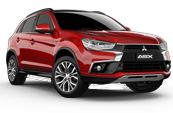 mitsubishi-asx-car-model-red