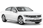 Volkswagon-passat-white-VW-car-model