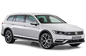 Volkswagen-passat-alltrack-white-VW-car-model