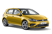 Volkswagon-golf-gold-car-model