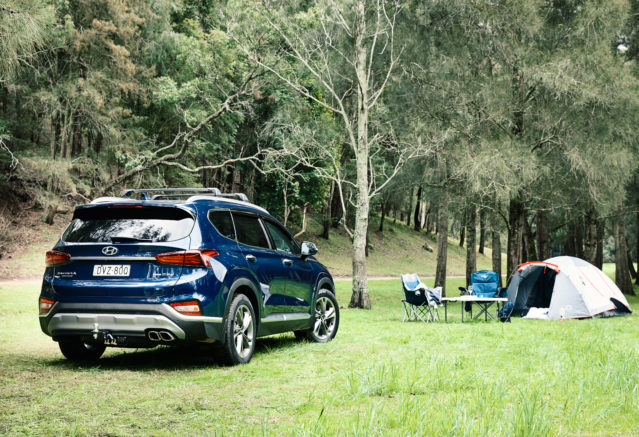 The 2019 Hyundai Santa Fe Is The Fourth Generation Compact Crossover SUV  Which Will Compete Against The Like Of The Nissan Rogue And The Honda CR V.  It ...