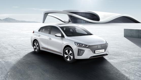 Hyundai Ioniq Electric Car Features