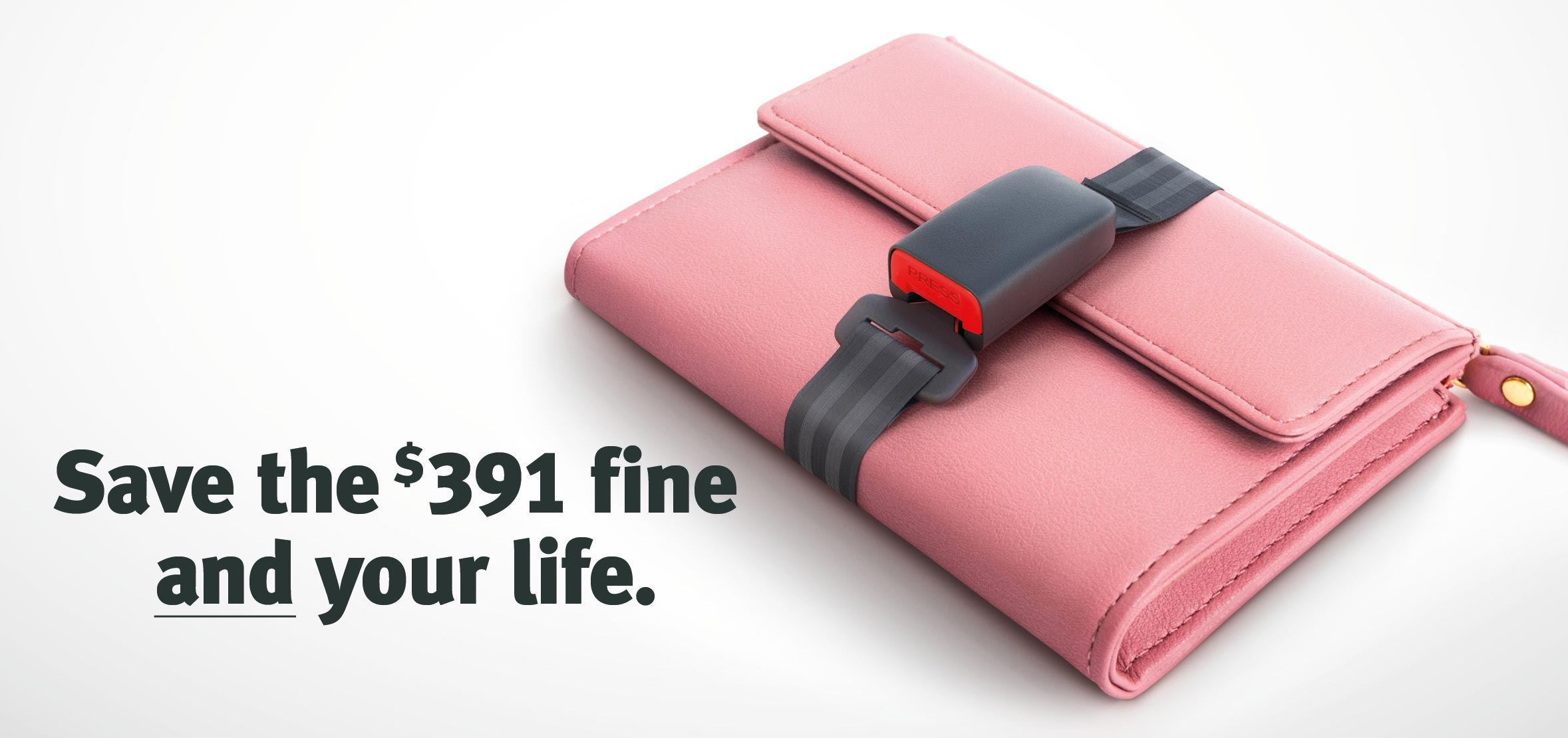 Save the $391 fine and your life