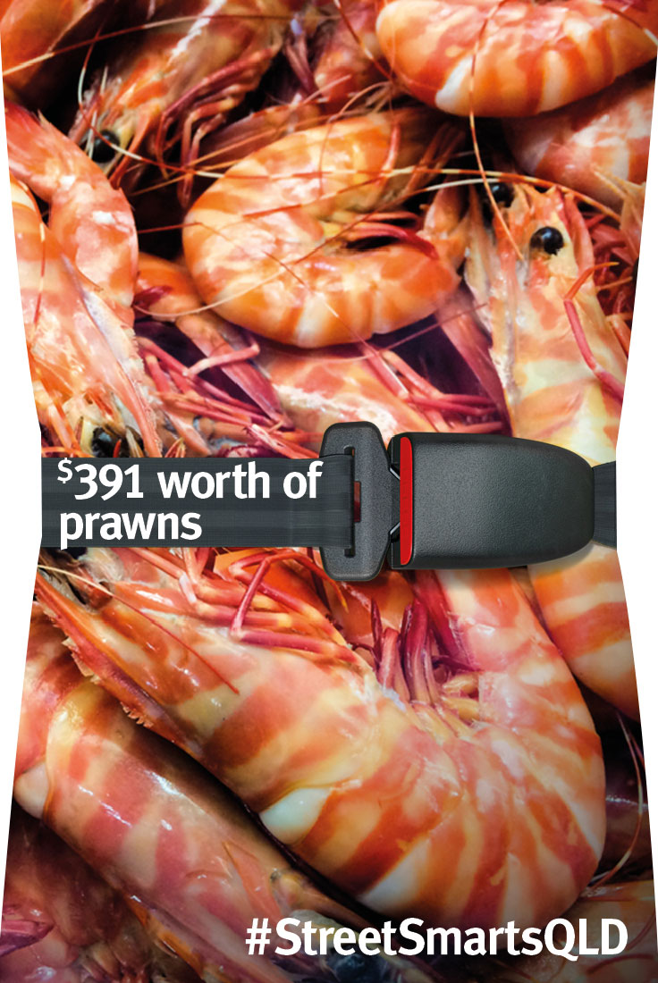 $391 worth of prawns
