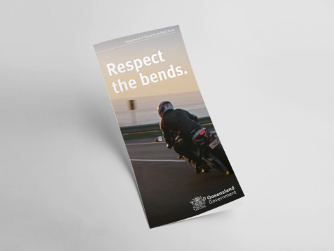 Respect the bends - DL flyer