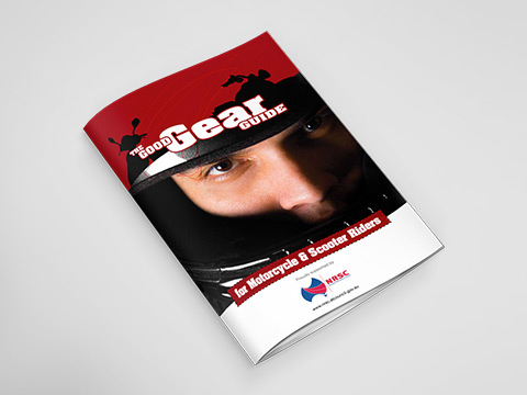 Motorcycle protective clothing - A4 brochure