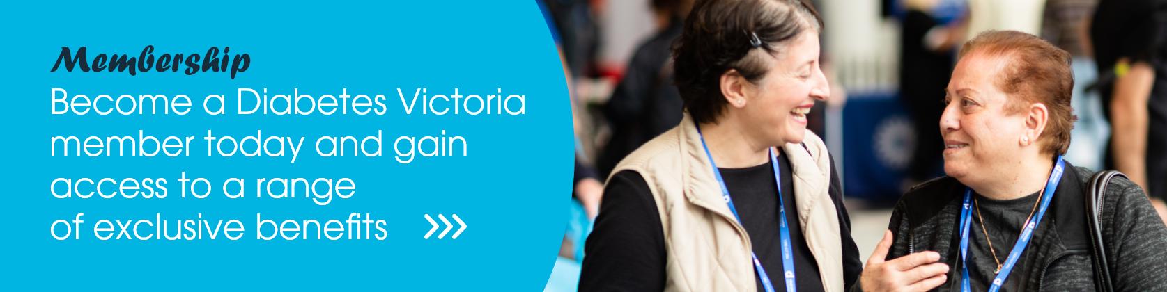 Diabetes Victoria Membership