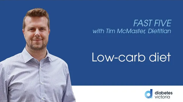 FAST FIVE: Low carb diets