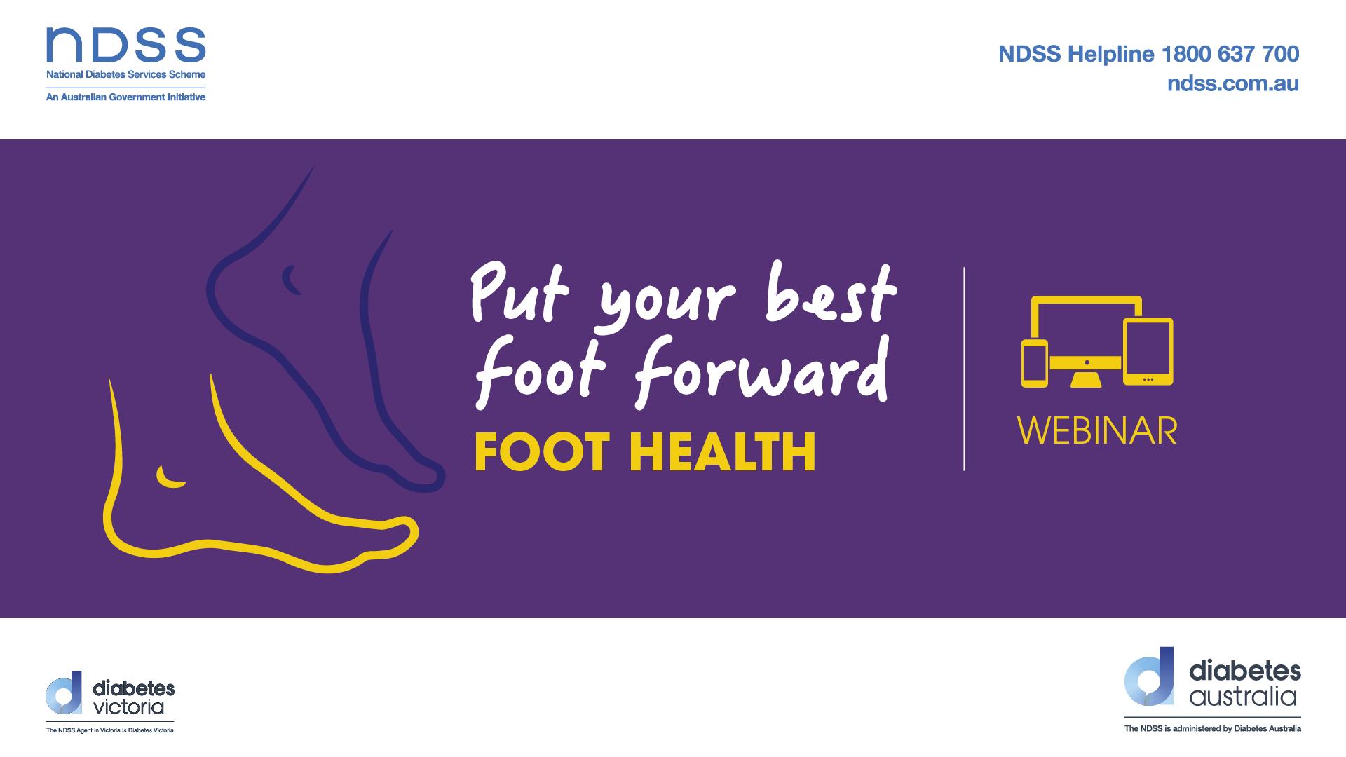 Put your best foot forward webinar