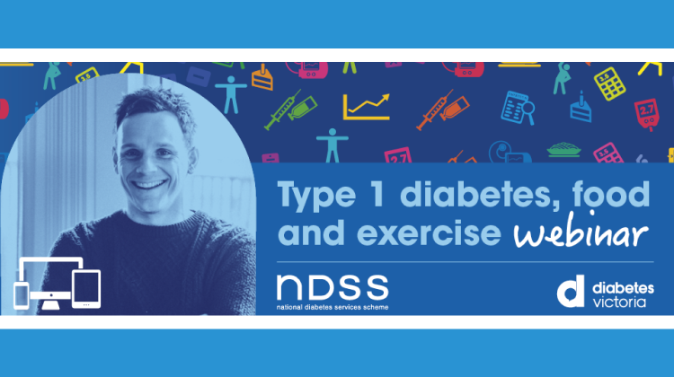 Type 1 diabetes, food and exercise webinar