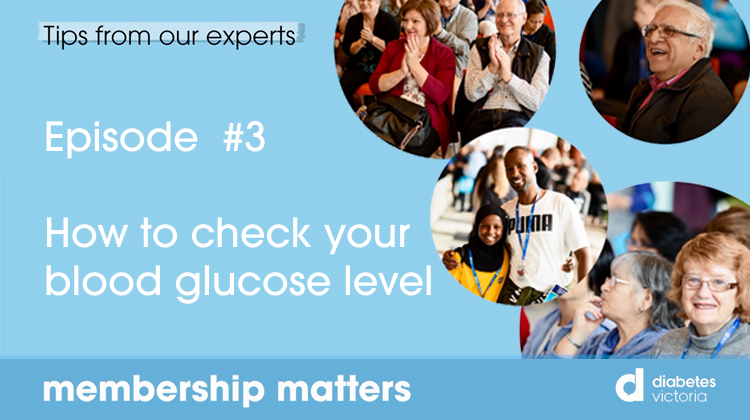 How to check your blood glucose level