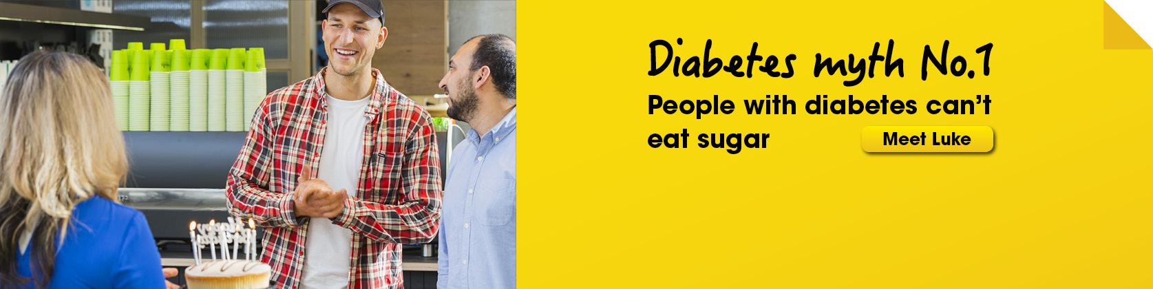 Bust a diabetes myth 1