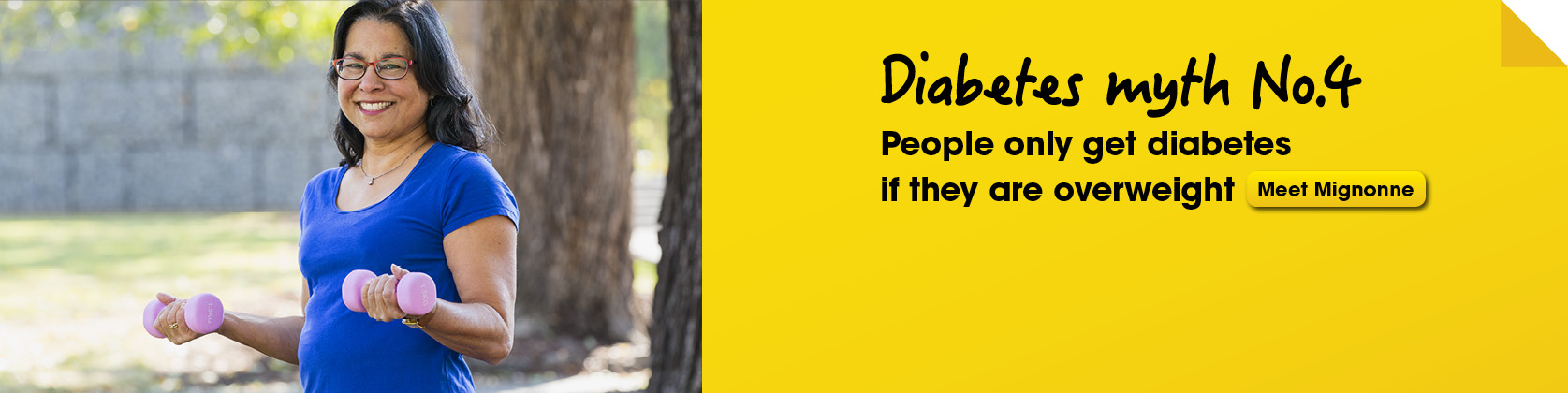 Bust a diabetes myth 4