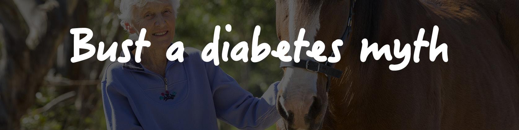 Bust a diabetes myth