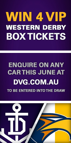 Win 4 VIP Box Tickets to the Western Derby - Enquire on any car this June