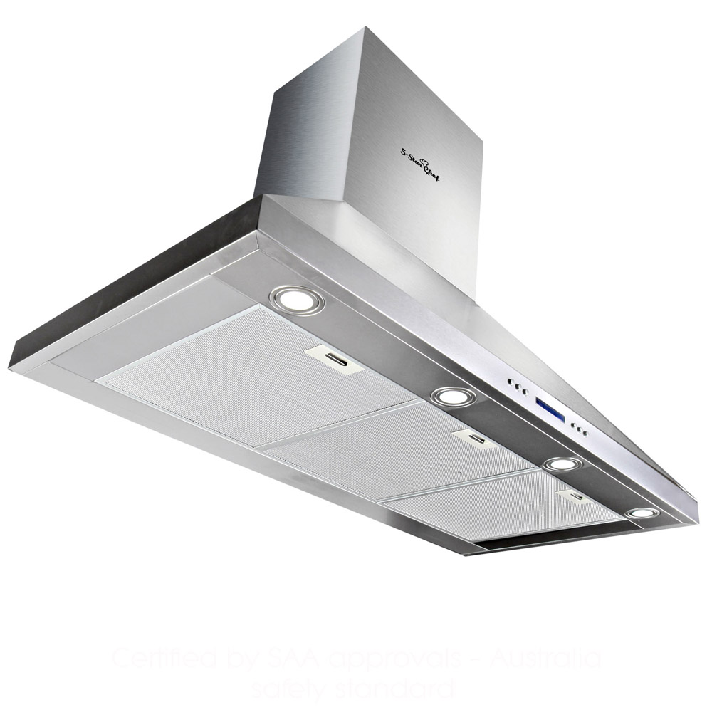 Commercial Kitchen Exhaust Hood Details ~ Commercial rangehood stainless kitchen canopy bbq exhaust