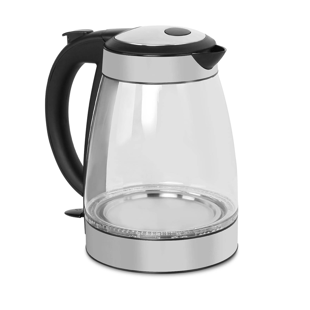 Best Cordless Water Kettle ~ L electric cordless led glass kettle kitchen water tea