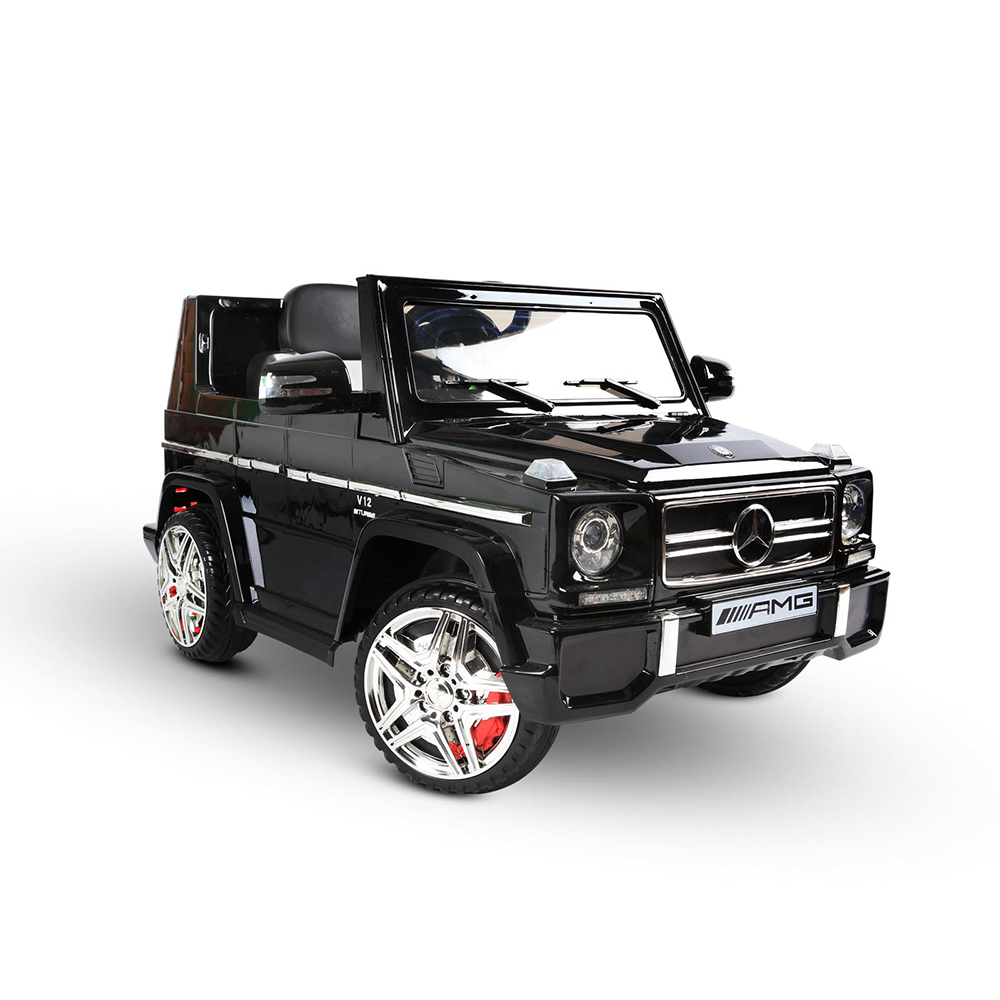 Mercedes g65 amg kids ride on car licensed remote control for Mercedes benz kids car