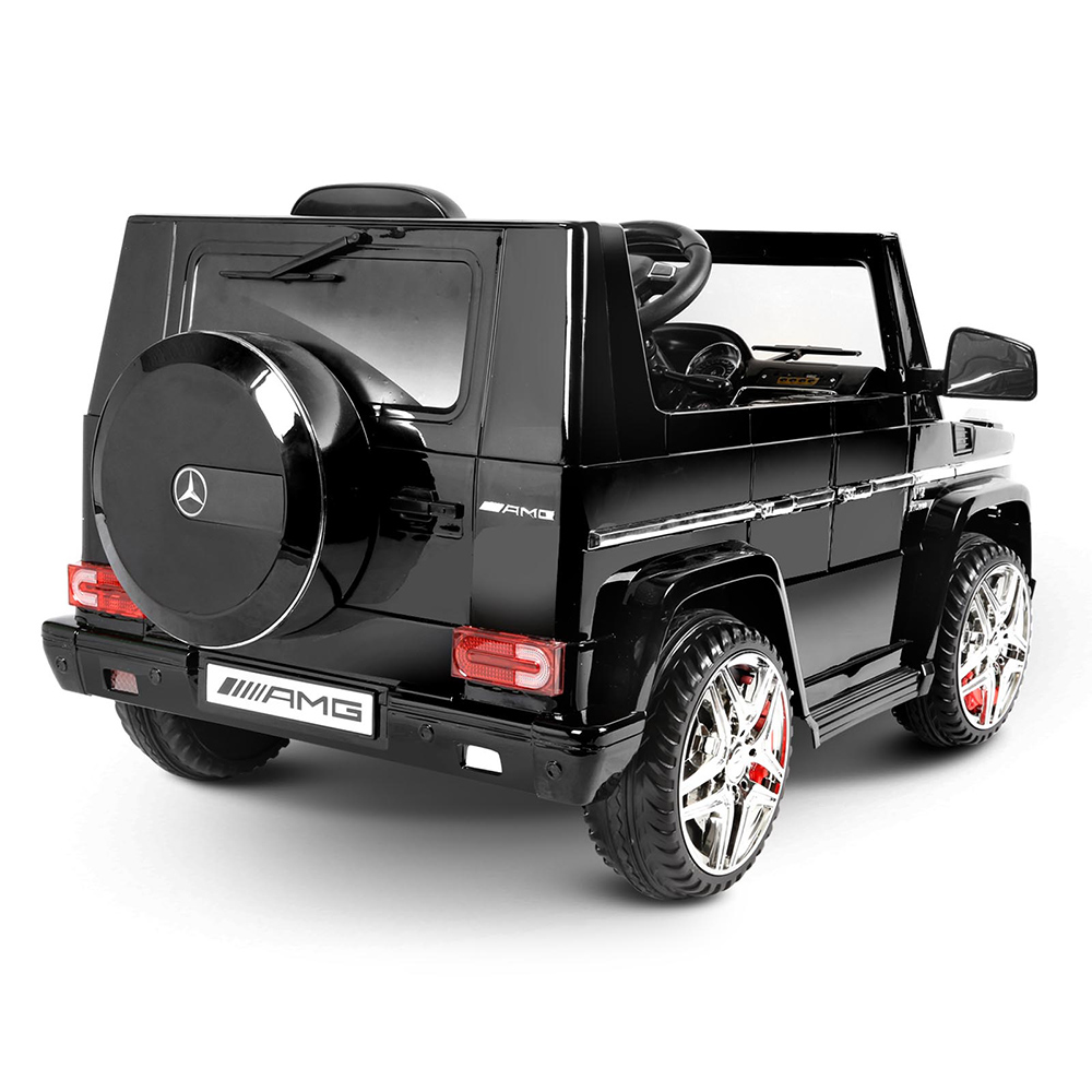 mercedes g65 amg kids ride on car licensed remote control children toy car black 9350062054819. Black Bedroom Furniture Sets. Home Design Ideas