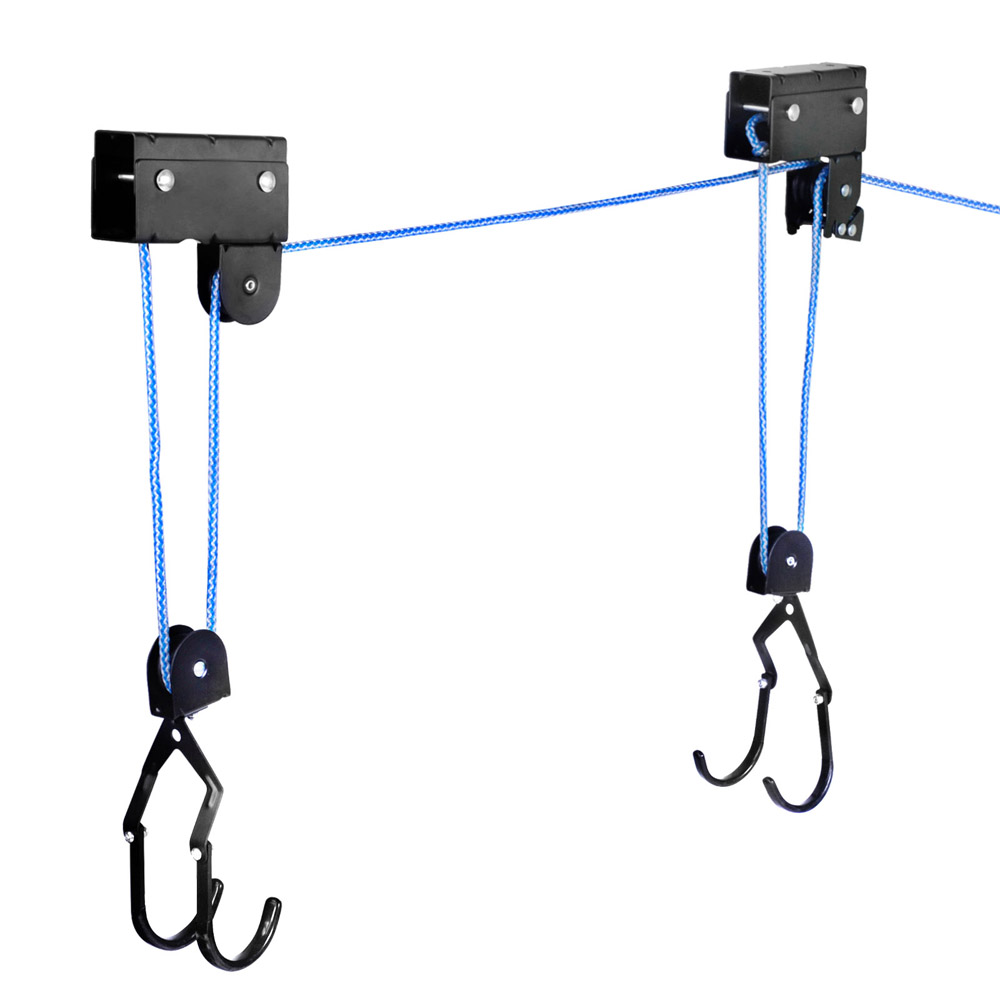 New Kayak Hoist Ceiling Rack Bike Lift Pulley System