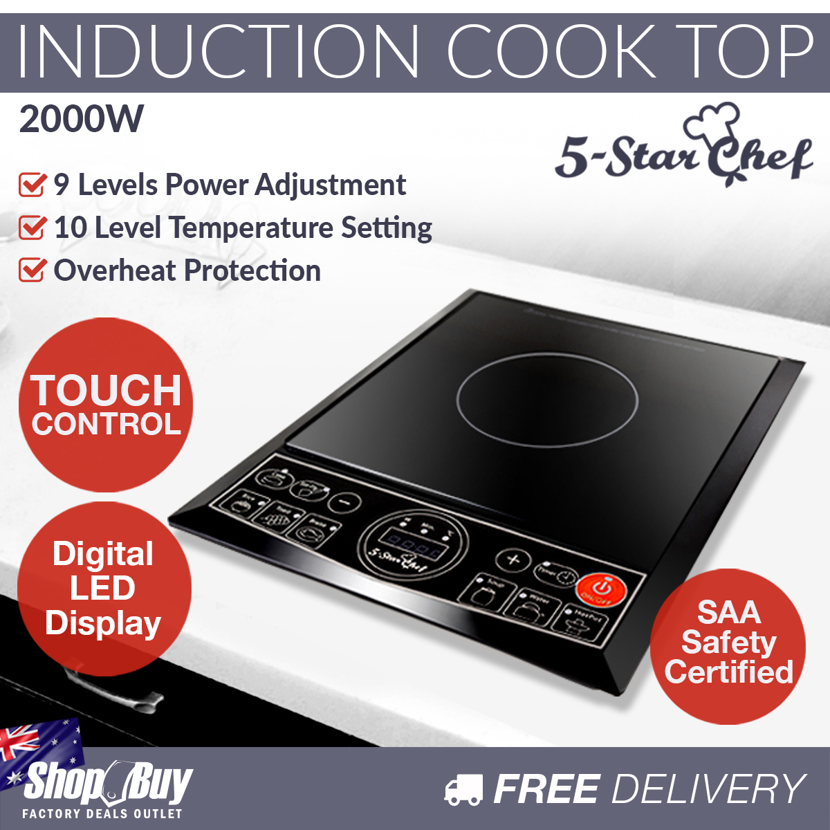 Induction Cooking Stoves ~ Portable electric induction cooktop kitchen stove ceramic