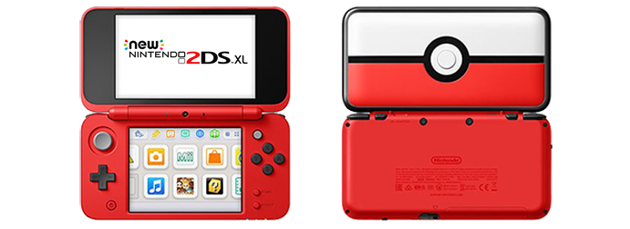 Nintendo New 2DS XL PokéBall Edition - EB Games Australia