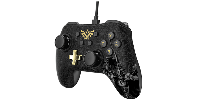 Nintendo Switch Wired Controller Plus - Zelda: Breath of the Wild ...