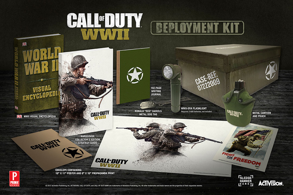 call of duty wwii strategy guide deployment kit eb