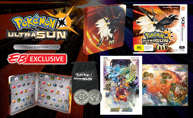 Pokémon Ultra Sun Fan Edition