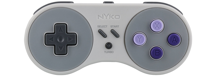 Nyko Super MiniBoss Wireless Controller - Super NES