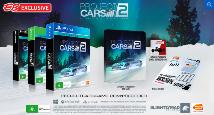 ebgames project cars 2 limited edition compare club. Black Bedroom Furniture Sets. Home Design Ideas