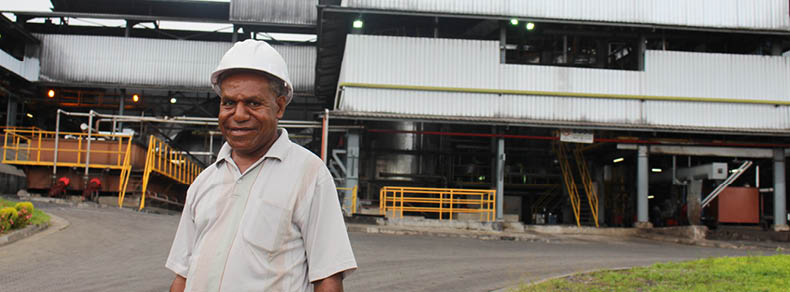 John Siwisika Mill Manager