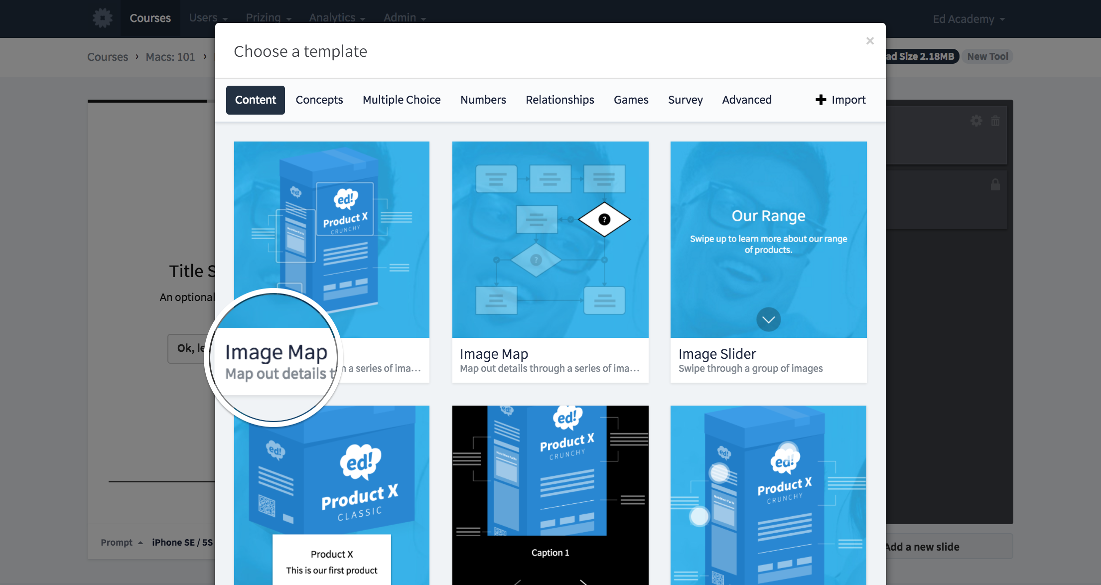 User Guide: Image Map