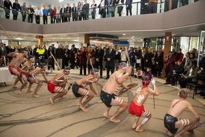 Dancers perform at lmcc naidoc ceremony
