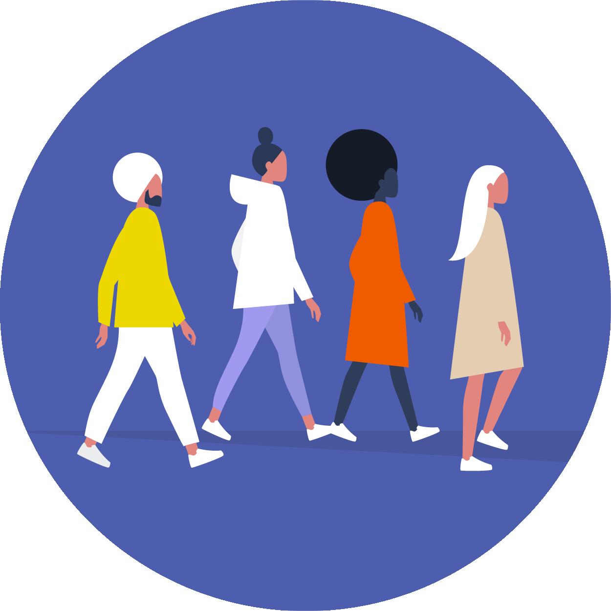 Join a community walk