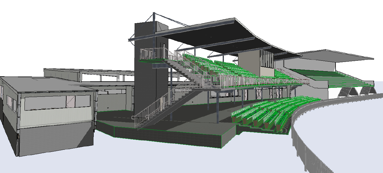New grandstand preliminary plans 2