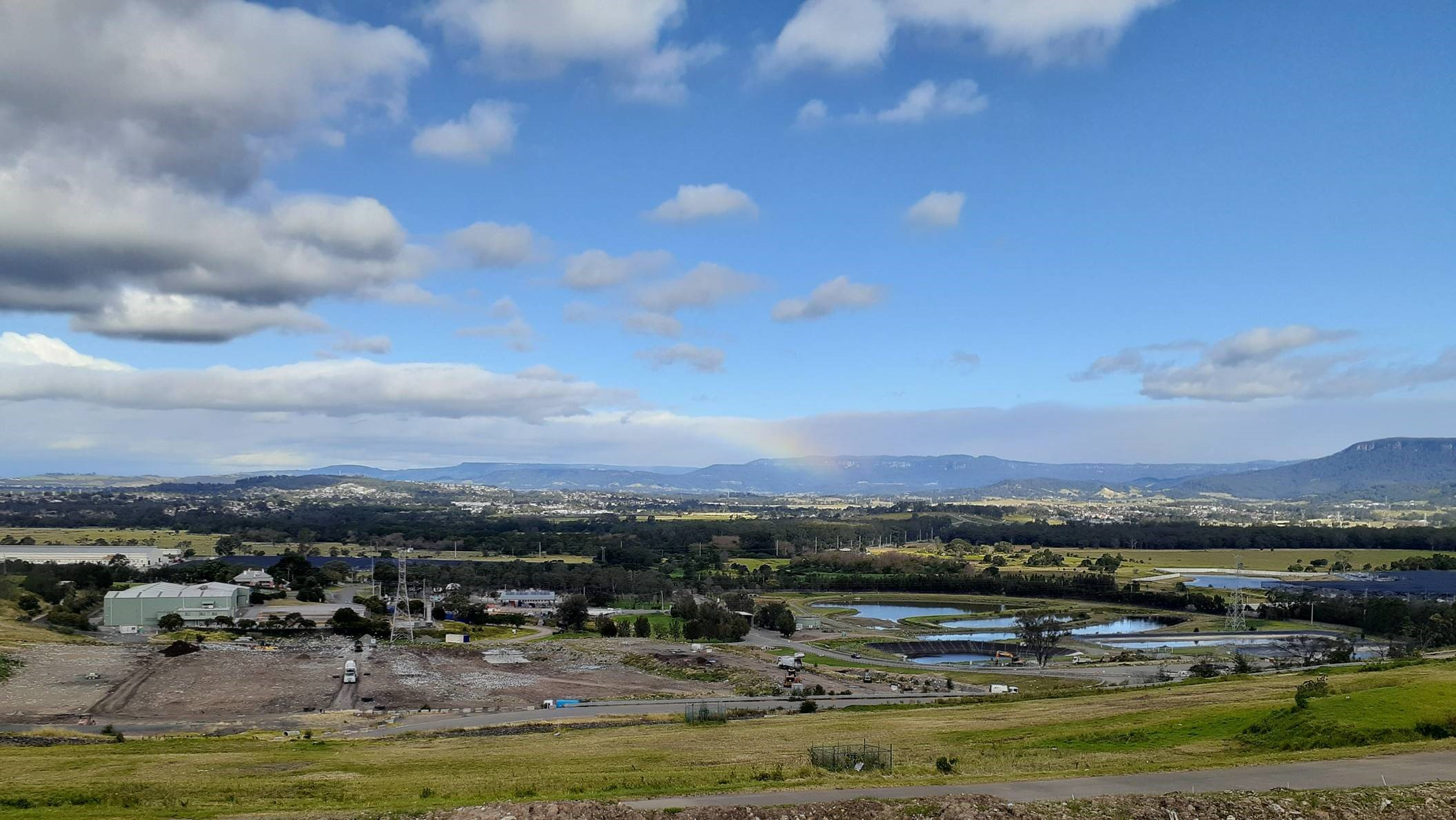 Image shows Wollongong Waste and Resource Recovery Park