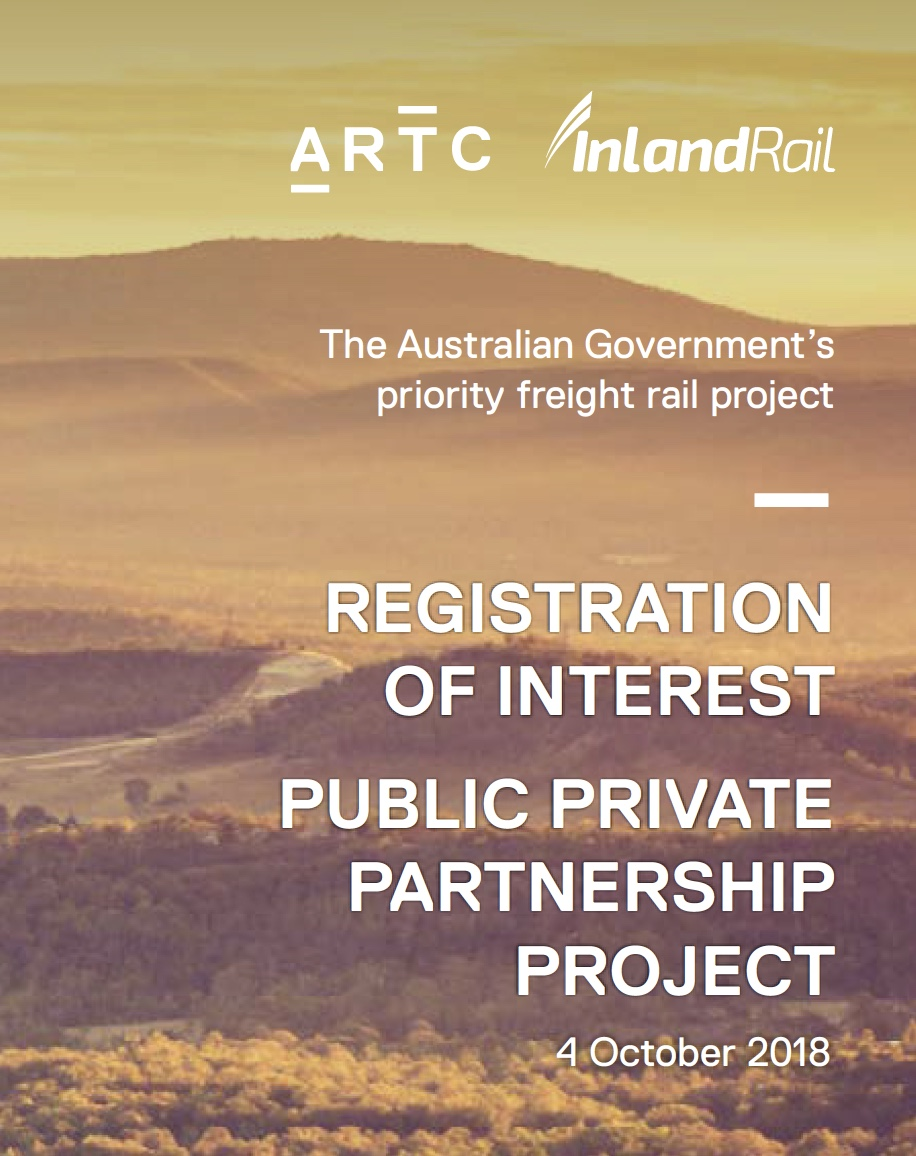 Inland Rail PPP Registration of Interest