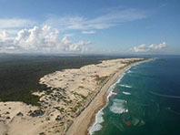 Dark-point-dunes