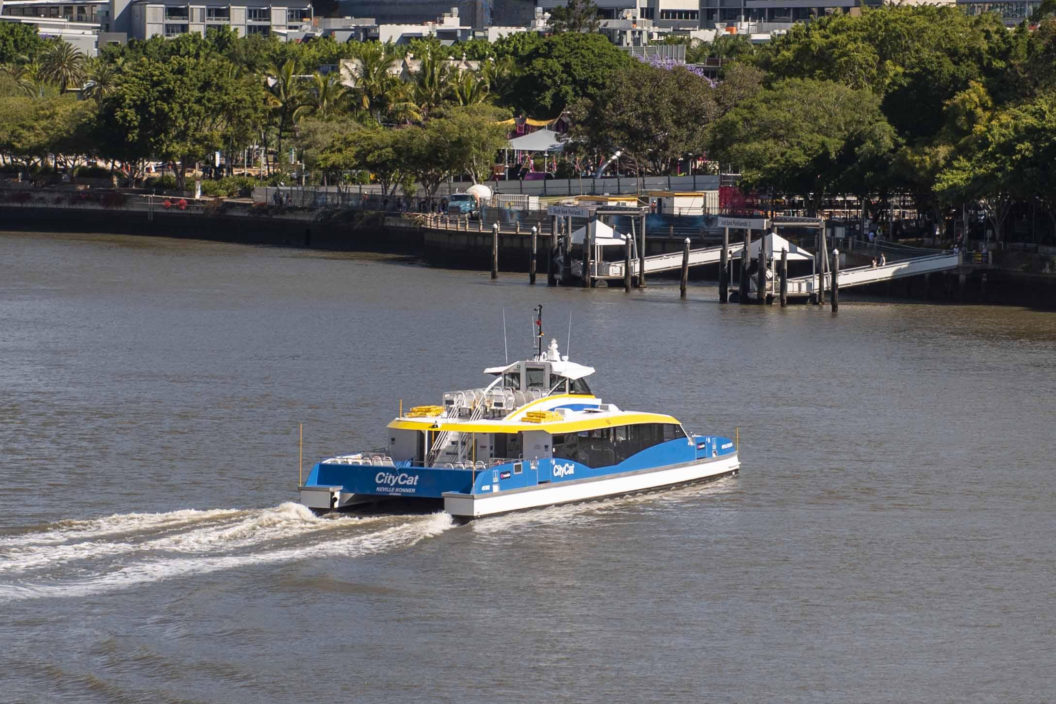 A Brisbane City Council CityCat