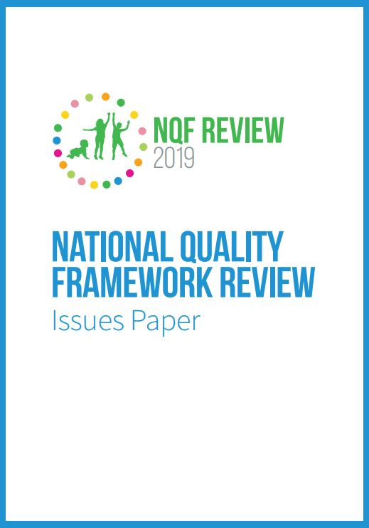 NQF Review Issues Paper
