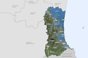 Map Of Australia Gold Coast.Updated Flood Overlay Maps City Of Gold Coast Planning And