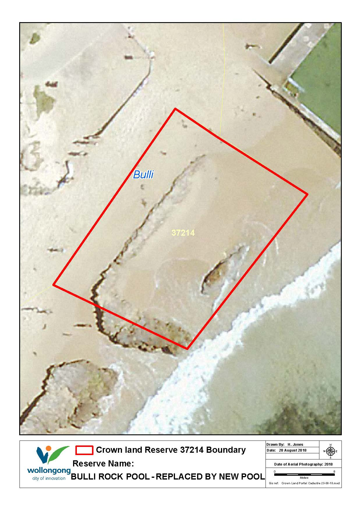 Bulli rock pool replaced by new reserve 37214 map z19 81059