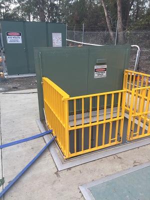 New electrona pump station