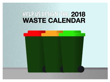 Waste calendar ad