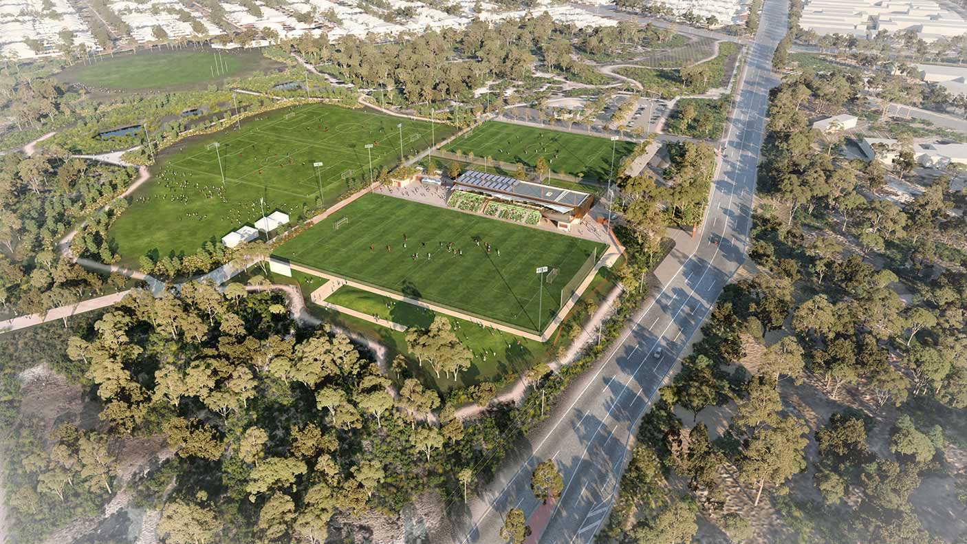 State Football Centre concept
