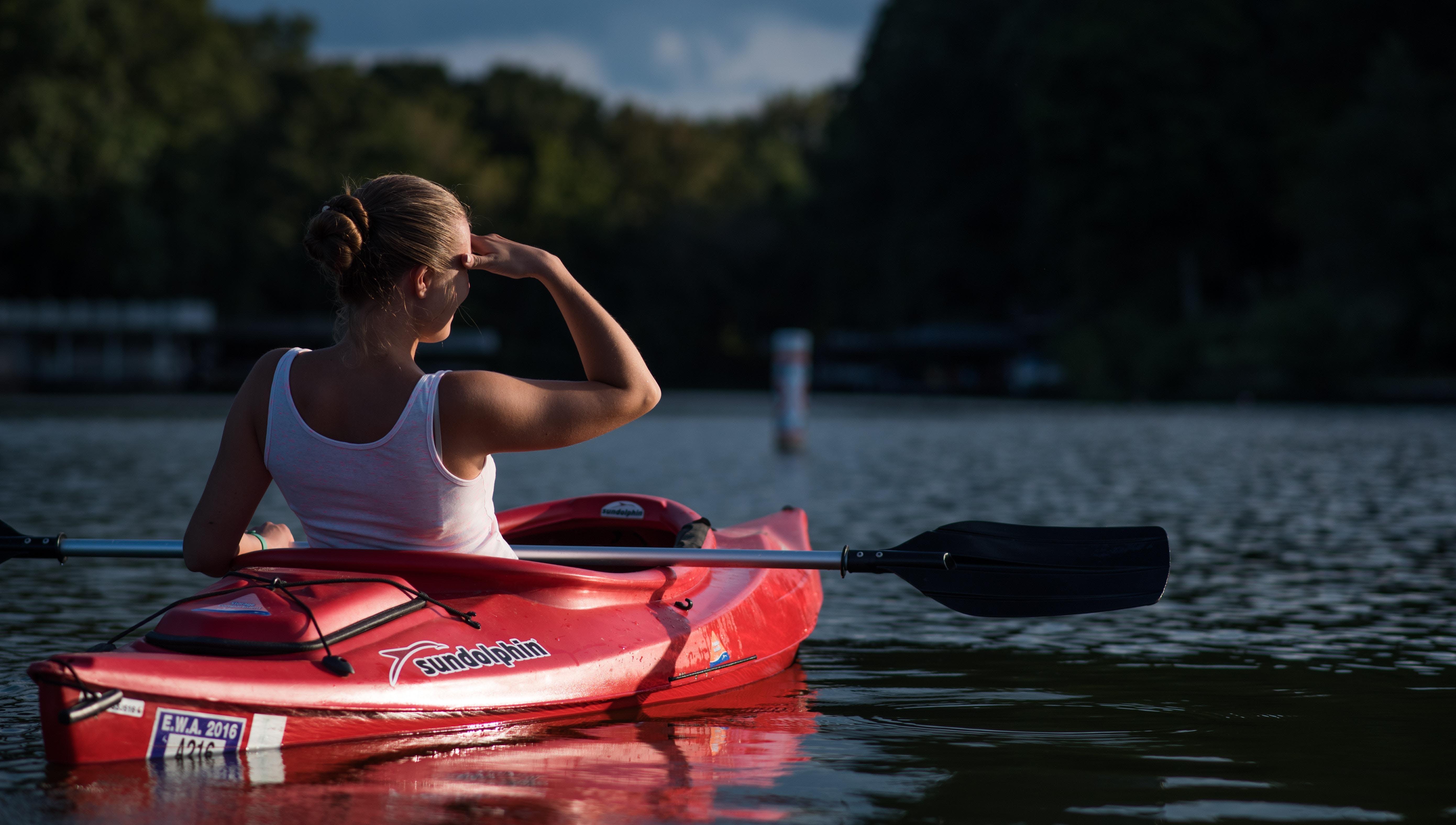 Canoeing female edit use