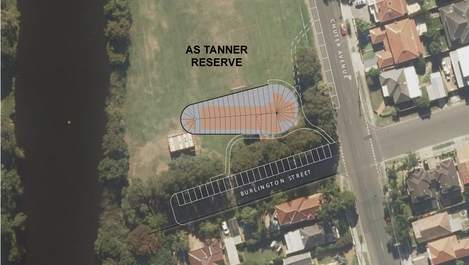 As tanner consultation board  site plan