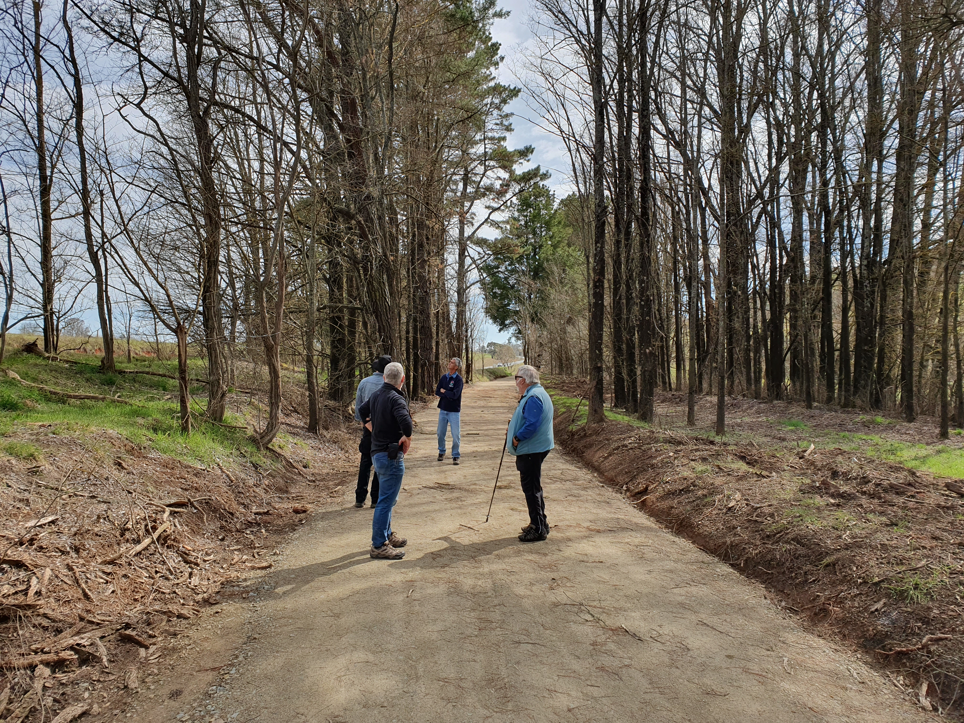 20190905   track walk with friends of the rail trail