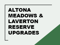Altona meadows and laverton reserve upgrades   past projects tile